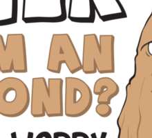 The Mystery of Almond Milk - Perfect Gift for Vegans and Vegetarians Sticker