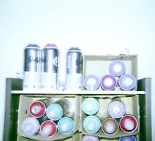 Spray Cans by Busybusy