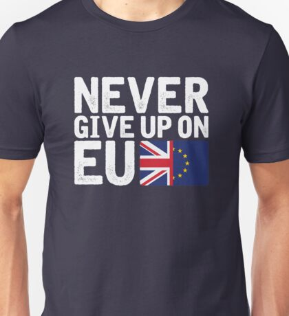 Lucie Jones - Never Give Up On You [2017, United Kingdom][EU] Unisex T-Shirt