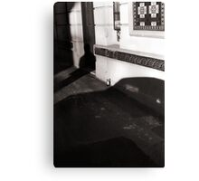 Bottle and Shadow Canvas Print