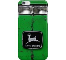 John Deere Front End of Tractor Logo Emblem Photograph iPhone Case/Skin