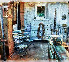 Classical vintage antiques shop by Ron Zmiri