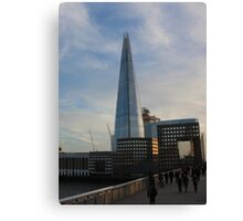 Shard Evolution Canvas Print