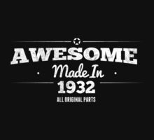 Awesome Made in 1932 All Original Parts by rardesign