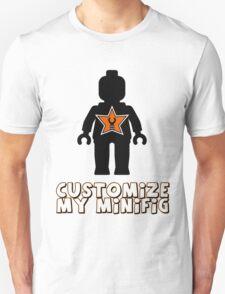 "Minifig [Black] ""Customize My Minifig"" Star Logo T-Shirt"