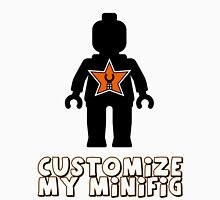 "Minifig [Black] ""Customize My Minifig"" Star Logo Unisex T-Shirt"
