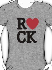 Music Lover. Love Rock. T-Shirt