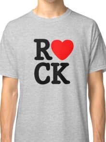 Rock and roll music love Classic T-Shirt