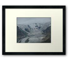 Glacier in Austria Framed Print