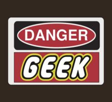 Danger Geek Sign, Chillee Wilson, Customize My Minifig by ChilleeW