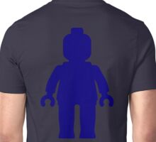 Minifig [Large Dark Blue], Customize My Minifig Unisex T-Shirt