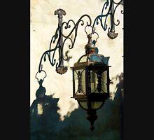 Old vintage metal street lantern lamp Unisex T-Shirt