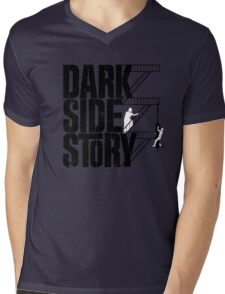 Dark Side Story Mens V-Neck T-Shirt
