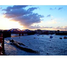 Blue Harbour Photographic Print