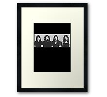 Waters, Mason, Gilmour, Wright  Framed Print