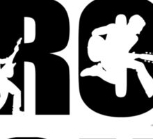 I love rock!!!!! Sticker