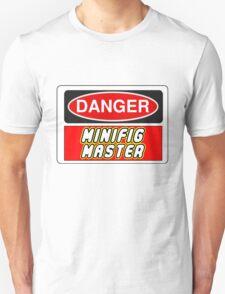 Danger Minifig Master Sign T-Shirt