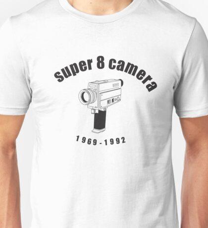 Super 8 Camera Unisex T-Shirt