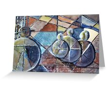 Bowler hat man Greeting Card