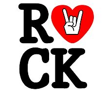 Rock!! Photographic Print
