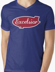 Excelsior Mens V-Neck T-Shirt