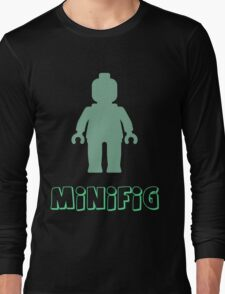 Minifig [Sand Green], Customize My Minifig Long Sleeve T-Shirt