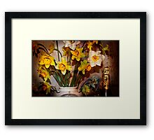 '' MOET FOR ONE '' Framed Print