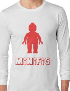 Minifig [Red], Customize My Minifig Long Sleeve T-Shirt