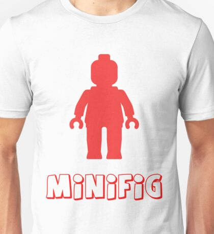 Minifig [Red], Customize My Minifig Unisex T-Shirt
