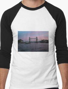 Tower Bridge Men's Baseball ¾ T-Shirt