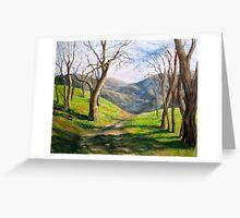 Simi Hills Greeting Card
