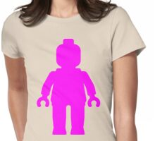 Minifig [Large Dark Pink], Customize My Minifig Womens Fitted T-Shirt