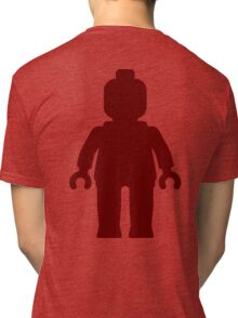 Minifig [Large Dark Red], Customize My Minifig Tri-blend T-Shirt