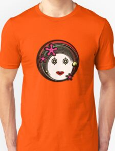 Flower Space Girl Unisex T-Shirt