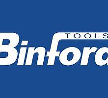 Binford Tools (white) by seenontv