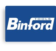 Binford Tools (white) Canvas Print