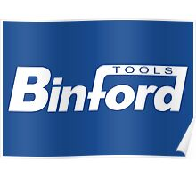 Binford Tools (white) Poster