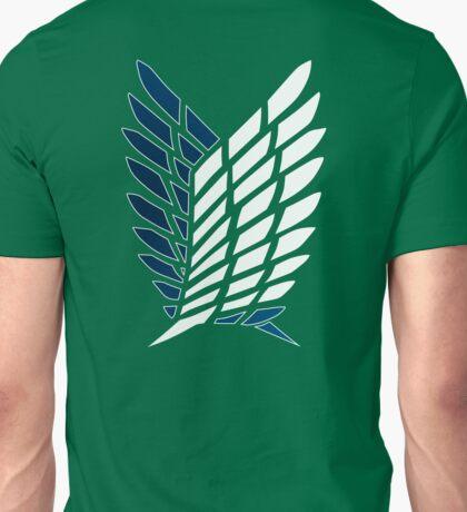 Survey Corps logo, Shingeki no Kyojin Unisex T-Shirt