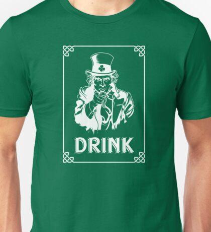 Funny Leprechaun Uncle Sam St Patricks Day 2017 Irish Unisex T-Shirt
