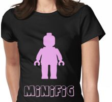 Minifig [Light Pink], Customize My Minifig Womens Fitted T-Shirt