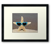 Star in Shades Framed Print