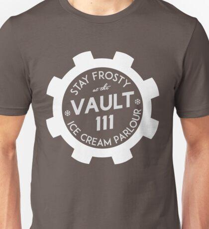 Vault 111 Ice Cream Parlour Unisex T-Shirt
