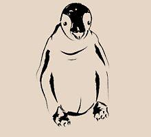 Festive Penguin, Sketch T-Shirt
