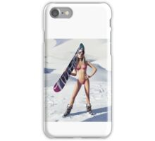 Snowboard is waiting! iPhone Case/Skin