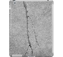 BROKEN SIDEWALK (Damaged) iPad Case/Skin