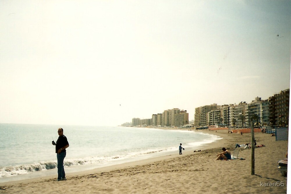 Spain Mediteranean Coastline by karen66