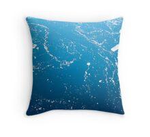 Iceflows, Antarctica Throw Pillow