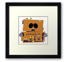 AWESOMO 2000 Framed Print