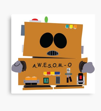 AWESOMO 2000 Canvas Print