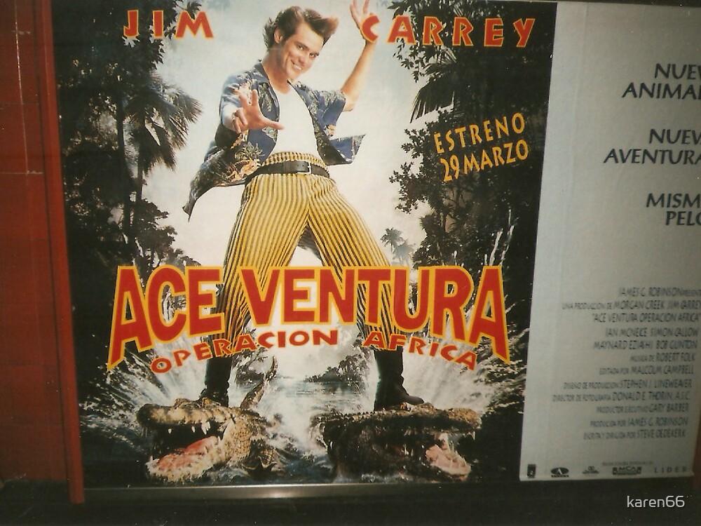 Ace Ventura in Spain by karen66